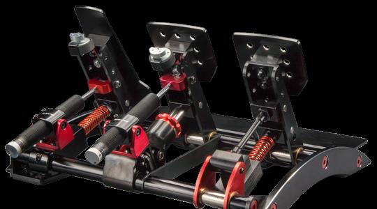 Fanatec Clubsport V3 pedals sim racing